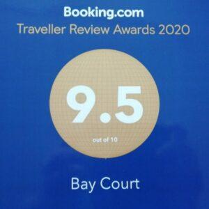 Booking.com Award 9.5 Score